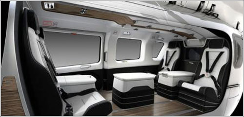 Eurocopter EC145 de Mercedes-Benz: interior