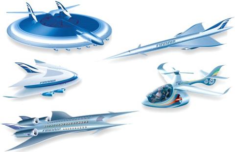 Departure 2093: visiones del futuro de la aviación