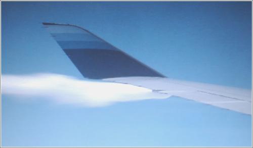 Airman spots aircraft fuel leak at 35,000 feet