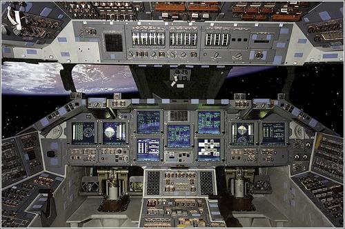 Glass cockpit del Atlantis