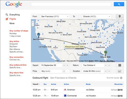 Googleflight