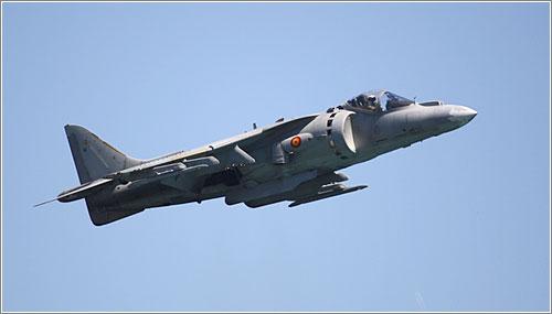 Harrier en el Día de las Fuerzas Armadas (CC) David Fierro