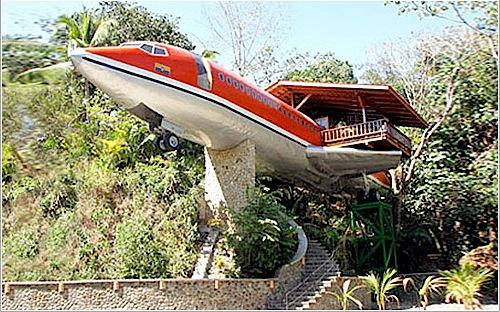 Hotel avión en Costa Rica