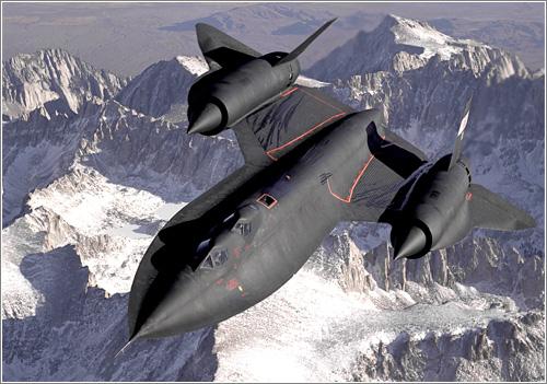 Algunas curiosidades sobre el Blackbird SR-71