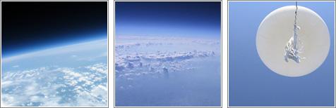 Fotos a gran altitud desde globos caseros / por Jean-Sébastien Busque