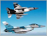 La pintura de los aviones militares sirve para reducir la señal del radar