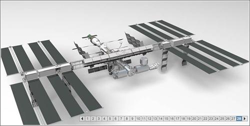 Progreso construcción ISS