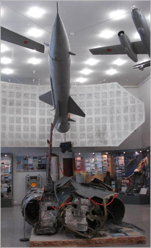 Restos del U-2, fotografía de Miguel Burgaleta