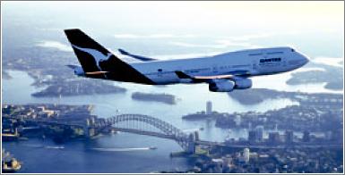 Actualmente ningún avión tiene la autonomía suficiente para volar sin escalas entre Europa y Australia