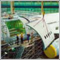 La conversión a carguero de un avión de pasaje requiere un importante trabajo de ingeniería