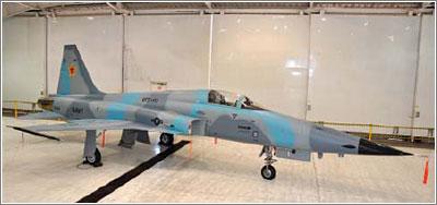 El F-5 sigue siendo un gran avión para los Agresores