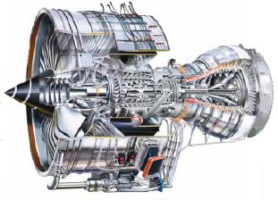 Un reactor es un motor de combustión externa. El motor de un coche es de