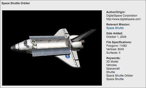 Shuttle Modelo 3D