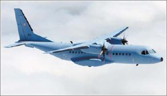La sonda de reabastecimiento en vuelo es un equipo opcionalen el C-295