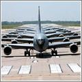 El C-135 tiene un fuselaje más estrecho que el B-707