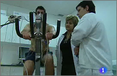 Video de las pruebas médicas reportaje RTVE