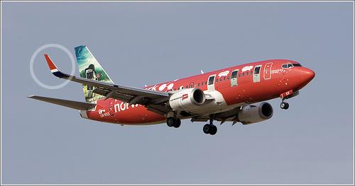 Winglets de un 737. Foto de Wicho