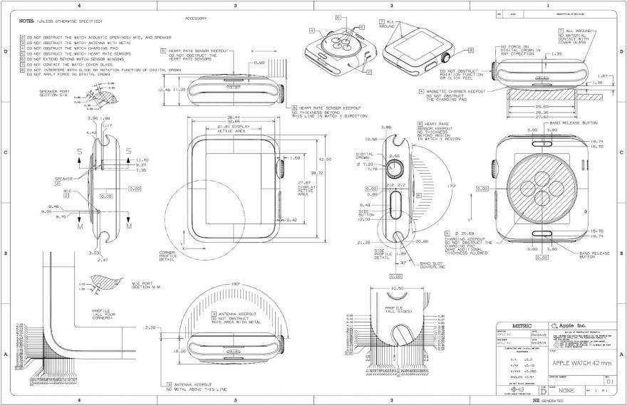 Apple Watch Blueprints