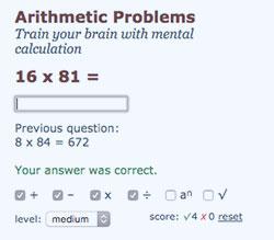 Aritmethic Problems