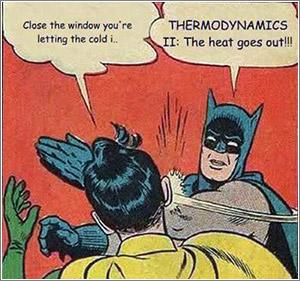 Batman-Robin-Termodinamica