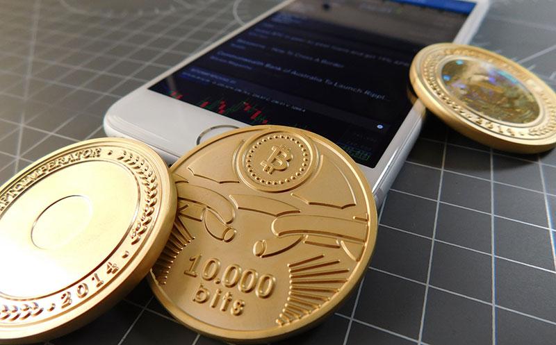 Bitcoin físicos de Crypto Imperator