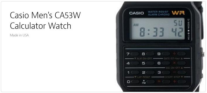 Casio CA53W
