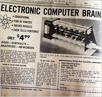 Cerebro Computerizado Electrónico