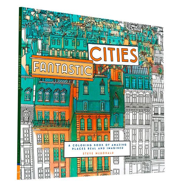 Un libro para colorear para adultos