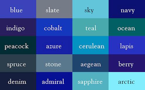 Colors-Tesaurus
