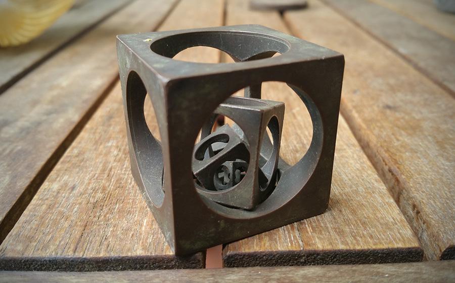 Otro cubo dentro de un cubo dentro de un cubo / Alberto Sánchez
