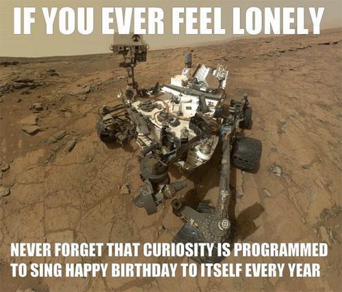 Curiosity / Cumpleaños Feliz