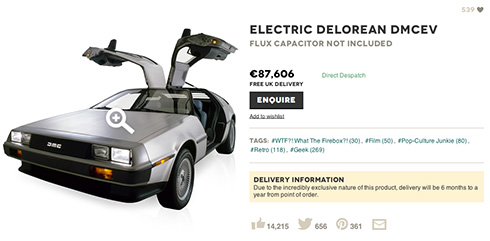 Delorean Electrico 2