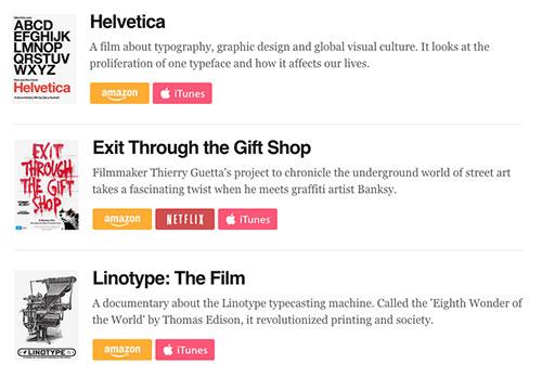 Documentales sobre diseño