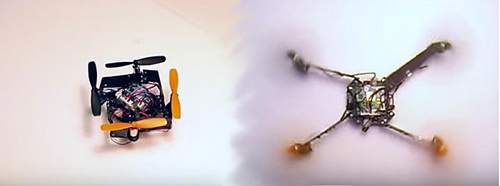 Dron-Desplegable