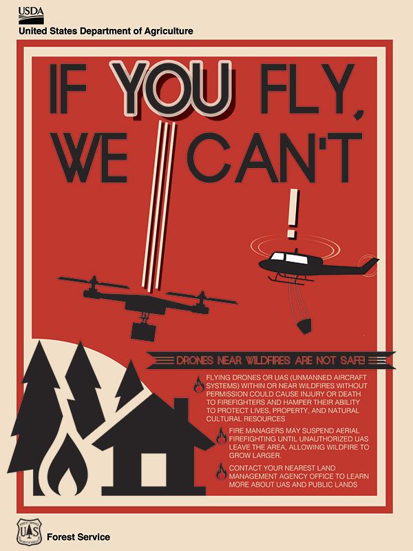 Drone Fire Safety / San Bernardino