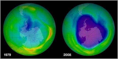 Agujero de la capa de ozono (1979 - 2008)