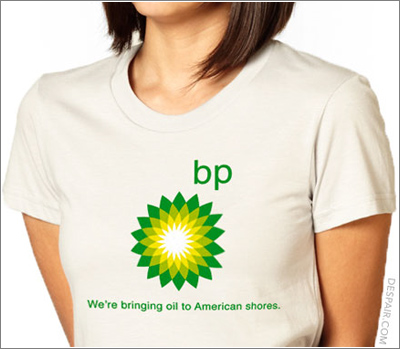 Camiseta desmotivadora BP