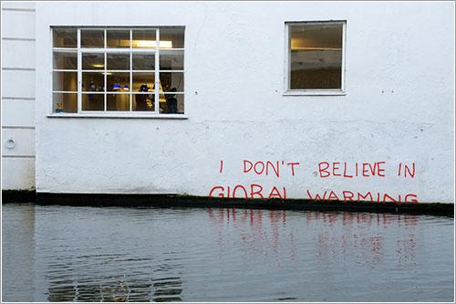 Banksy no creo en el calentamiento global por RomanyWG