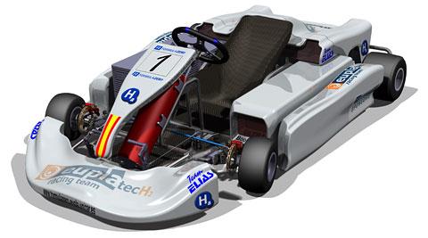 Kart Hidrógeno Formula Zero