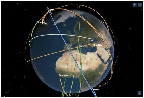 Eyes On Earth 3D - NASA