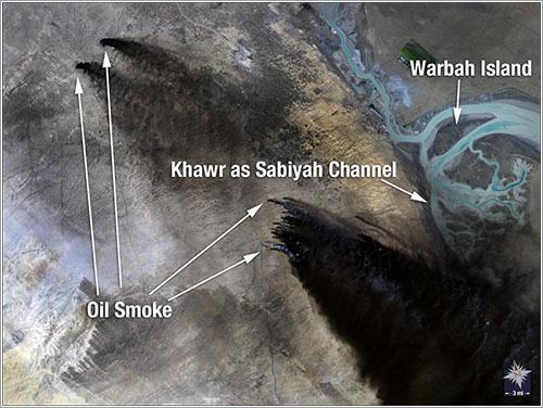 Landsat 5 / Kuwait