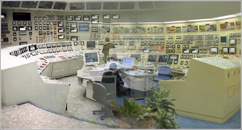 Sala de control nuclear