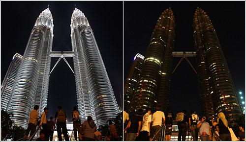 Las Torres Petronas - AP Photo/Lai Seng Sin