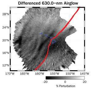 Airglow-Tsunami