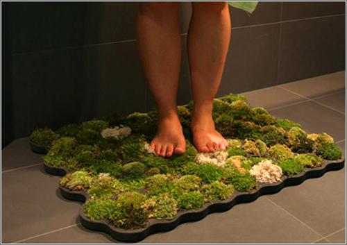 Alfombra baño cultivada