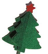 Árbol decorativo fabricado con fieltro - Foto: WWF