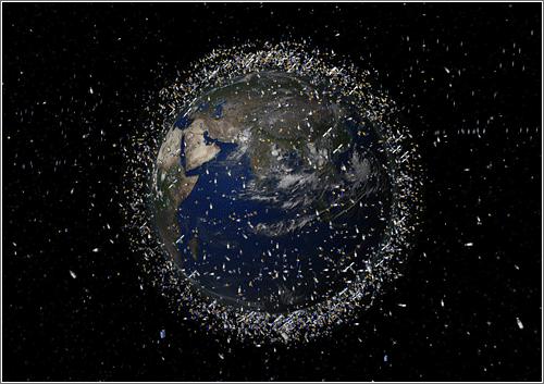 Basura Espacial en Orbita Terrestre