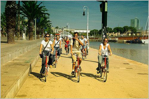 Turismo en Bicicleta por Barcelona (CC) Santi1975 en Flickr