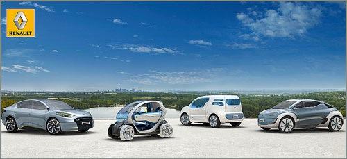 Coches eléctricos Renault ZE