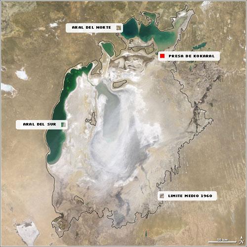 Desaparición Mar Aral